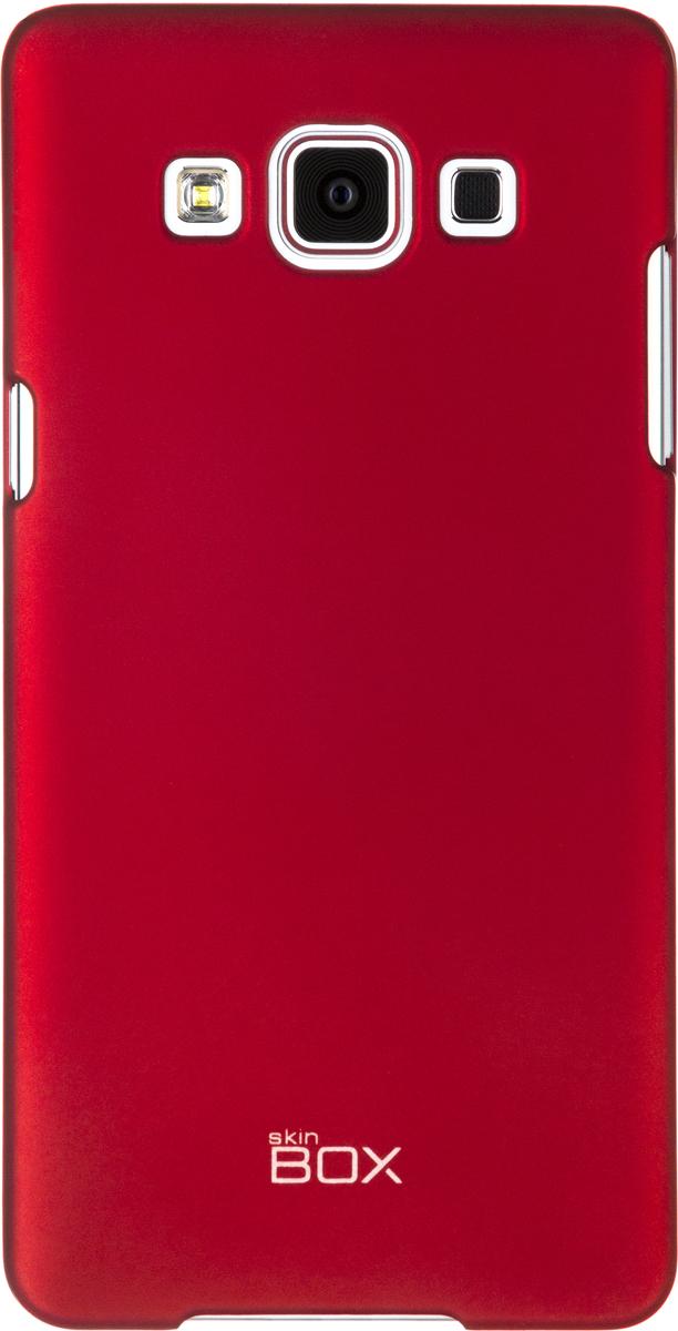 Skinbox 4People чехол для Samsung A500 Galaxy A5, RedT-S-SGA500-002Чехол - накладка Skinbox 4People для Samsung A500 Galaxy A5 бережно и надежно защитит ваш смартфон от пыли, грязи, царапин и других повреждений. Чехол оставляет свободным доступ ко всем разъемам и кнопкам устройства. В комплект также входит защитная пленка на экран.