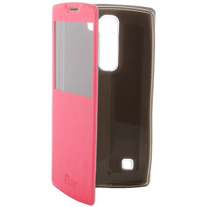 Skinbox Lux AW чехол для LG Magna, PinkT-S-LM-004Чехол Skinbox Lux AW для LG Magna выполнен из высококачественного поликарбоната и искусственной кожи. Он обеспечивает надежную защиту корпуса и экрана смартфона и надолго сохраняет его привлекательный внешний вид. Чехол также обеспечивает свободный доступ ко всем разъемам и клавишам устройства.