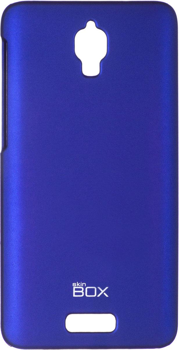Skinbox 4People чехол для Lenovo S660, BlueT-S-LS660-002Чехол - накладка Skinbox 4People для Lenovo S660 бережно и надежно защитит ваш смартфон от пыли, грязи, царапин и других повреждений. Чехол оставляет свободным доступ ко всем разъемам и кнопкам устройства. В комплект также входит защитная пленка на экран.