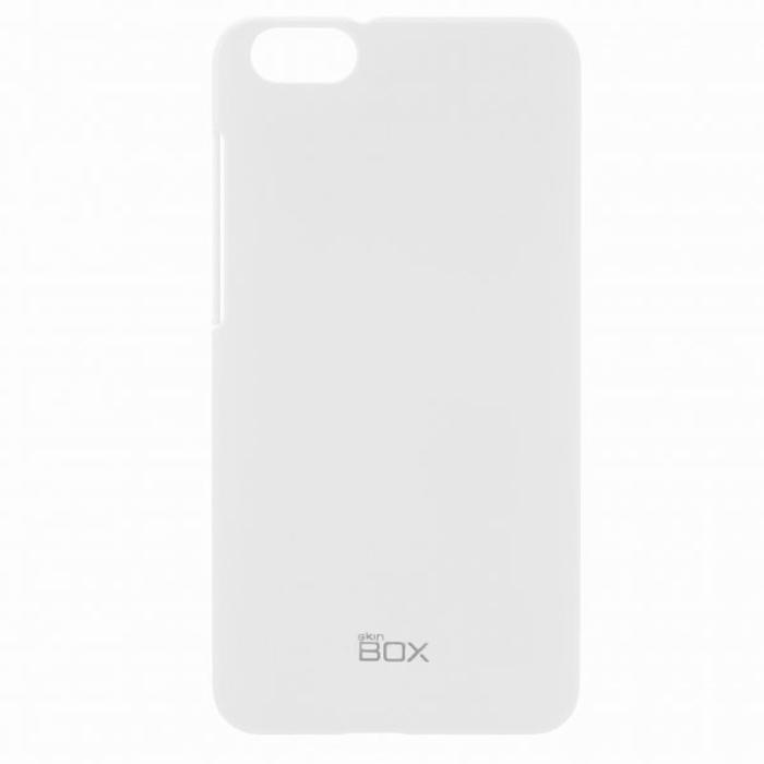 Skinbox 4People чехол для Huawei Honor 4X, WhiteT-S-HH4X-002Чехол - накладка Skinbox 4People для Huawei Honor 4X бережно и надежно защитит ваш смартфон от пыли, грязи, царапин и других повреждений. Чехол оставляет свободным доступ ко всем разъемам и кнопкам устройства. В комплект также входит защитная пленка на экран.