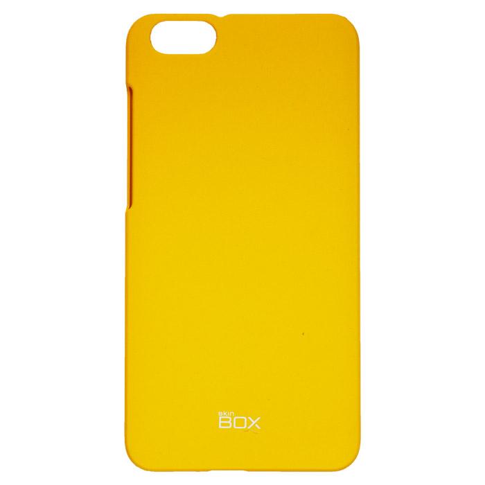 Skinbox 4People чехол для Huawei Honor 4X, YellowT-S-HH4X-002Чехол - накладка Skinbox 4People для Huawei Honor 4X бережно и надежно защитит ваш смартфон от пыли, грязи, царапин и других повреждений. Чехол оставляет свободным доступ ко всем разъемам и кнопкам устройства. В комплект также входит защитная пленка на экран.
