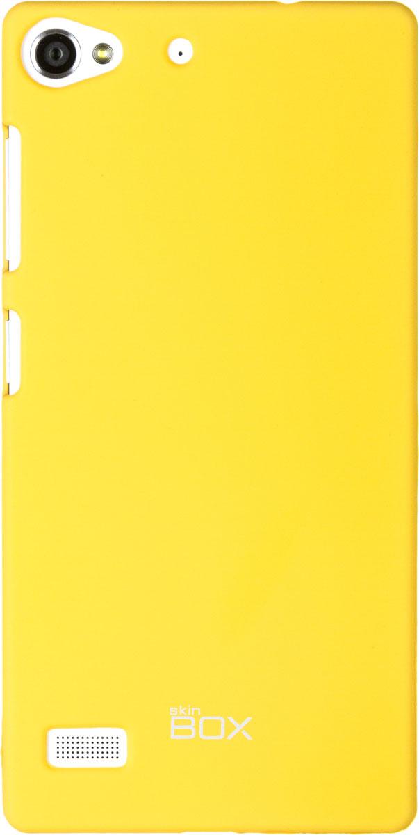 Skinbox 4People чехол для Lenovo Vibe X2, YellowT-S-LVX2-002Чехол-накладка Skinbox 4People для Lenovo Vibe X2 бережно и надежно защитит ваш смартфон от пыли, грязи, царапин и других повреждений. Чехол оставляет свободным доступ ко всем разъемам и кнопкам устройства. В комплект также входит защитная пленка на экран.