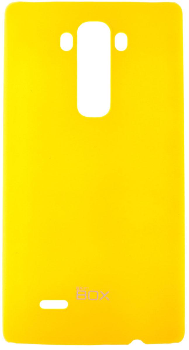 Skinbox 4People чехол для LG G Flex 2, YellowT-S-LGF2-002Чехол-накладка Skinbox 4People для LG G Flex 2 бережно и надежно защитит ваш смартфон от пыли, грязи, царапин и других повреждений. Чехол оставляет свободным доступ ко всем разъемам и кнопкам устройства.