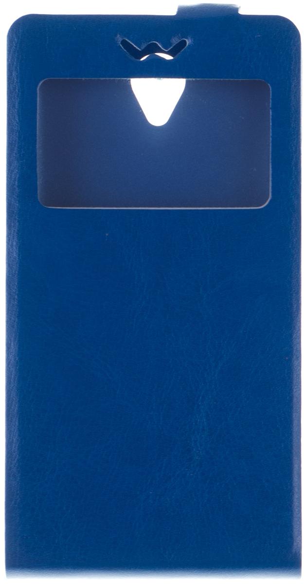 Skinbox Slim AW чехол для Lenovo A5000, BlueT-F-LA5000-001Чехол Skinbox Slim AW для Lenovo A5000 бережно и надежно защитит ваш смартфон от пыли, грязи, царапин и других повреждений. Чехол оставляет свободным доступ ко всем разъемам и кнопкам устройства.