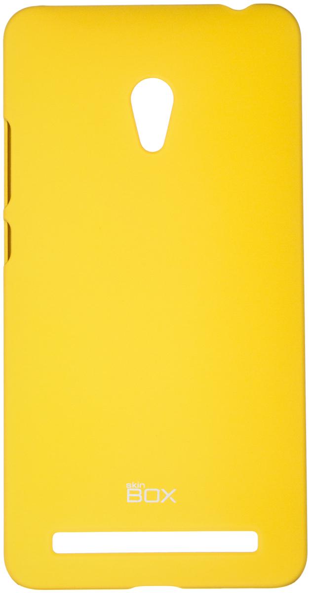 Skinbox 4People чехол для Asus ZenFone 6, YellowT-S-AZ6-002Чехол - накладка Skinbox 4People для Asus ZenFone 6 бережно и надежно защитит ваш смартфон от пыли, грязи, царапин и других повреждений. Чехол оставляет свободным доступ ко всем разъемам и кнопкам устройства. В комплект также входит защитная пленка на экран.