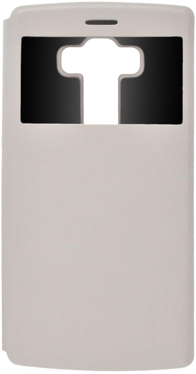 Skinbox Lux AW чехол для LG G4S, WhiteT-S-LG4S-004Чехол Skinbox Lux AW для LG G4S выполнен из высококачественного поликарбоната и экокожи. Он обеспечивает надежную защиту корпуса и экрана смартфона и надолго сохраняет его привлекательный внешний вид. Чехол также обеспечивает свободный доступ ко всем разъемам и клавишам устройства.