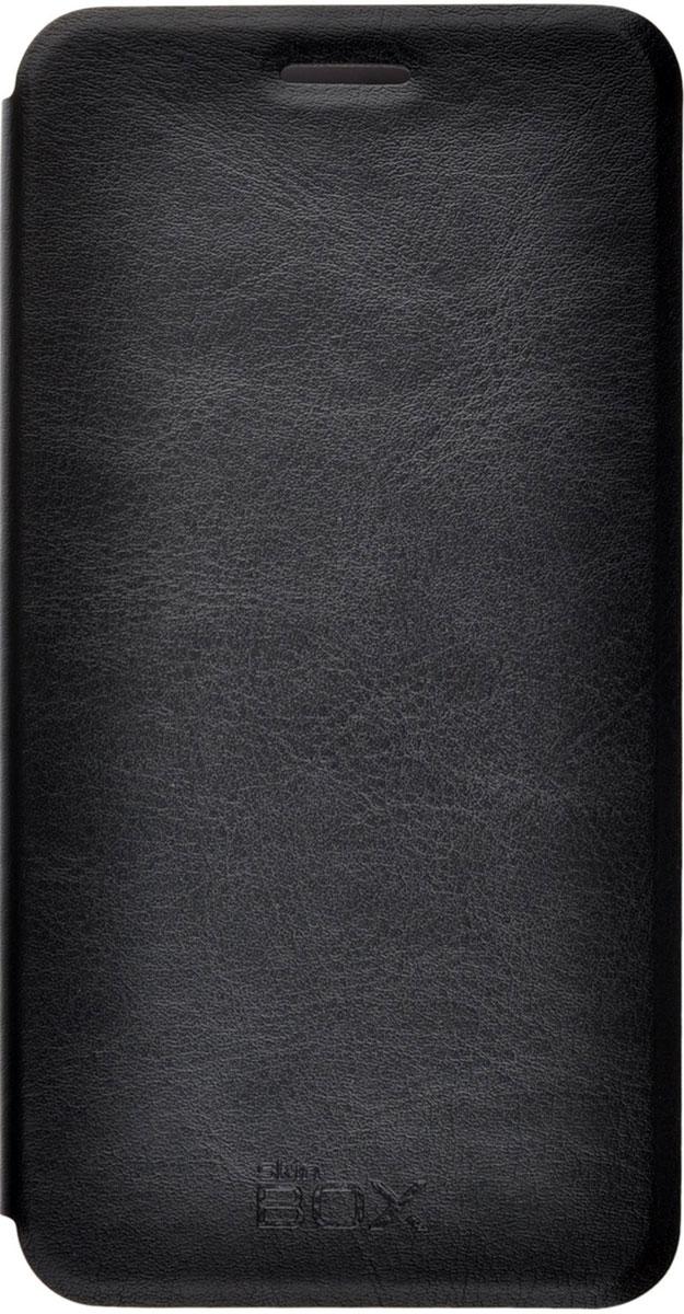 Skinbox Lux чехол для Meizu MX5, BlackT-S-MMX5-003Чехол Skinbox Lux для Meizu MX5 выполнен из высококачественного поликарбоната и экокожи. Он обеспечивает надежную защиту корпуса и экрана смартфона и надолго сохраняет его привлекательный внешний вид. Чехол также обеспечивает свободный доступ ко всем разъемам и клавишам устройства.