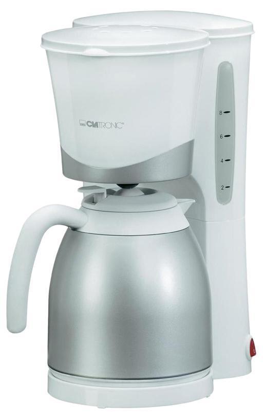 Clatronic KA 3327, White кофеварка