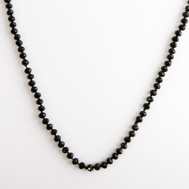 Колье Fashion House, цвет: черный. FH28047 ( FH28047 )
