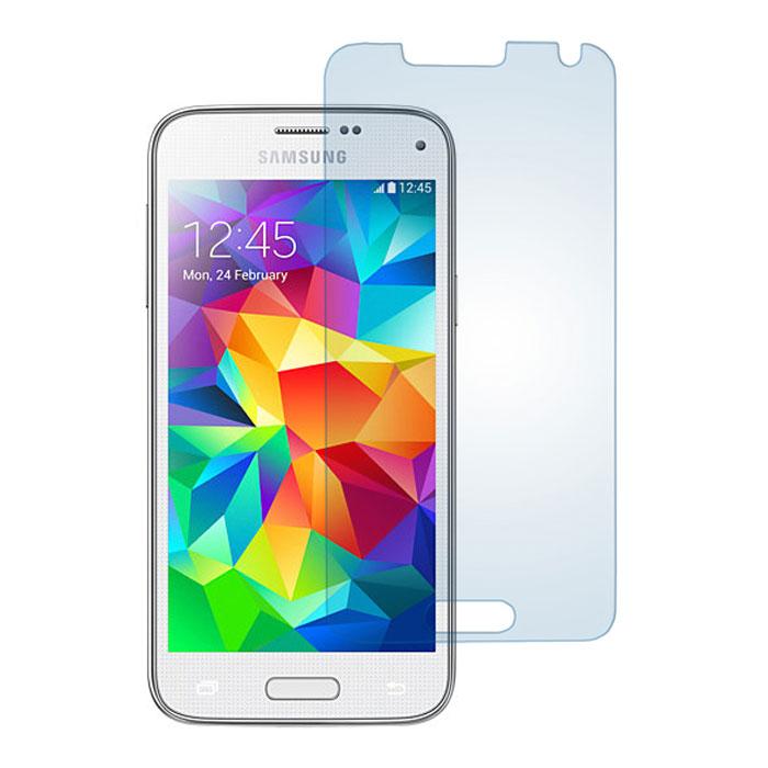 Skinbox защитное стекло для Samsung Galaxy S5 mini, глянцевоеSP-086Защитное стекло Skinbox для Samsung Galaxy S5 mini предназначено для защиты поверхности экрана от царапин, потертостей, отпечатков пальцев и прочих следов механического воздействия. Оно имеет окаймляющую загнутую мембрану последнего поколения, а также олеофобное покрытие. Изделие изготовлено из закаленного стекла высшей категории, с высокой чувствительностью и сцеплением с экраном.