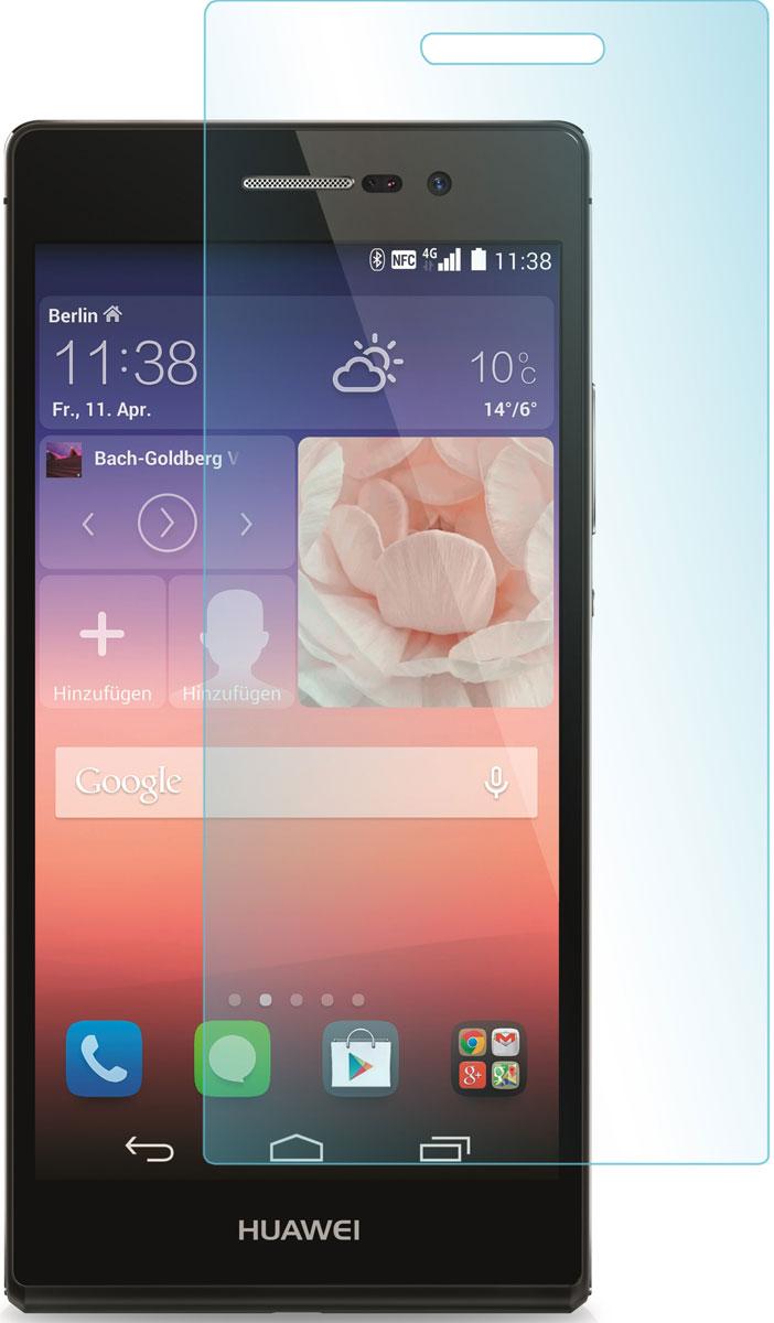 Skinbox защитное стекло для Huawei Ascend P7, глянцевоеSP-096Защитное стекло Skinbox для Huawei Ascend P7 предназначено для защиты поверхности экрана от царапин, потертостей, отпечатков пальцев и прочих следов механического воздействия. Оно имеет окаймляющую загнутую мембрану последнего поколения, а также олеофобное покрытие. Изделие изготовлено из закаленного стекла высшей категории, с высокой чувствительностью и сцеплением с экраном.