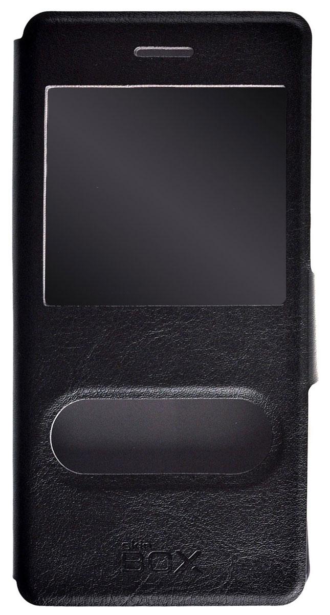 Skinbox Lux AW чехол для Huawei P8 Lite, BlackT-S-HP8L-004Чехол Skinbox Lux AW для Huawei P8 Lite выполнен из высококачественного поликарбоната и экокожи. Он обеспечивает надежную защиту корпуса и экрана смартфона и надолго сохраняет его привлекательный внешний вид. Чехол также обеспечивает свободный доступ ко всем разъемам и клавишам устройства.