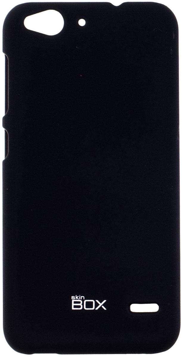 Skinbox 4People чехол для ZTE Blade S6, BlackT-S-ZBS6-002Накладка Skinbox 4People для ZTE Blade S6 выполнена из высококачественного поликарбоната. Она бережно и надежно защитит ваш смартфон от пыли, грязи, царапин и других повреждений. Чехол оставляет свободным доступ ко всем разъемам и кнопкам устройства.