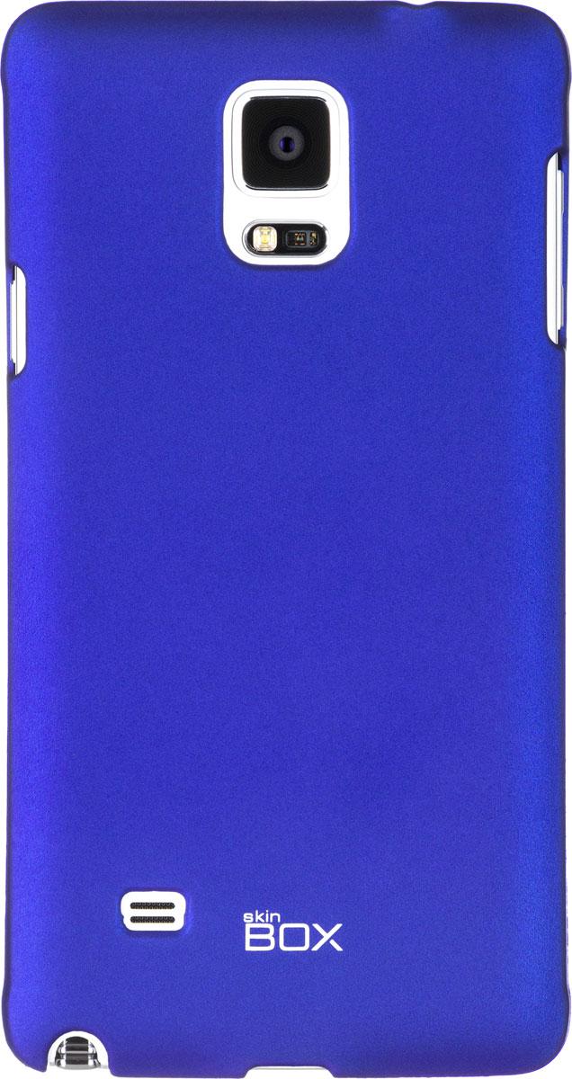 Skinbox 4People чехол для Samsung Galaxy Note 4, BlueT-S-SGN4-002Чехол - накладка Skinbox 4People для Samsung Galaxy Note 4 бережно и надежно защитит ваш смартфон от пыли, грязи, царапин и других повреждений. Чехол оставляет свободным доступ ко всем разъемам и кнопкам устройства. В комплект также входит защитная пленка на экран.