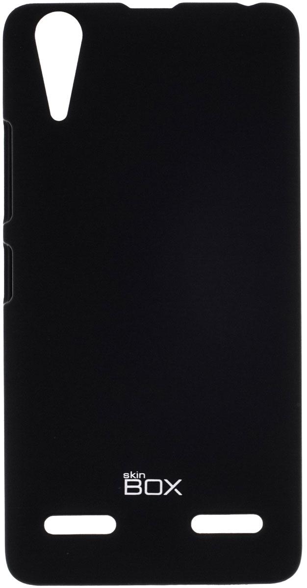 Skinbox 4People чехол для Lenovo A6000, BlackP-S-LA6000-002Чехол-накладка Skinbox 4People для Lenovo A6000 бережно и надежно защитит ваш смартфон от пыли, грязи, царапин и других повреждений. Чехол оставляет свободным доступ ко всем разъемам и кнопкам устройства. В комплект также входит защитная пленка на экран.
