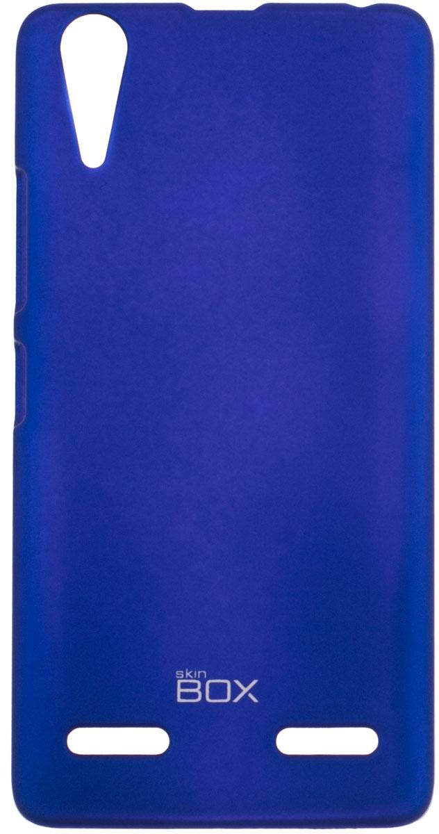 Skinbox 4People чехол для Lenovo A6000, BlueP-S-LA6000-002Чехол-накладка Skinbox 4People для Lenovo A6000 бережно и надежно защитит ваш смартфон от пыли, грязи, царапин и других повреждений. Чехол оставляет свободным доступ ко всем разъемам и кнопкам устройства. В комплект также входит защитная пленка на экран.