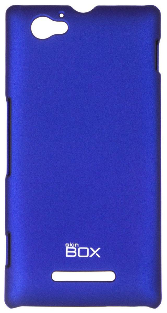 Skinbox 4People чехол для Sony Xperia M/M Dual, BlueT-S-SXM-002Чехол - накладка Skinbox 4People для Sony Xperia M/M Dual бережно и надежно защитит ваш смартфон от пыли, грязи, царапин и других повреждений. Чехол оставляет свободным доступ ко всем разъемам и кнопкам устройства. В комплект также входит защитная пленка на экран.