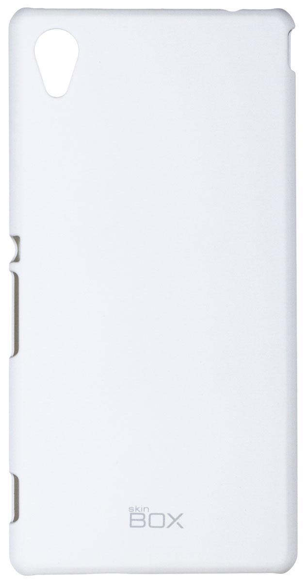Skinbox 4People чехол для Sony Xperia M4 Aqua, WhiteT-S-SXM4A-002Чехол - накладка Skinbox 4People для Sony Xperia M4 Aqua бережно и надежно защитит ваш смартфон от пыли, грязи, царапин и других повреждений. Чехол оставляет свободным доступ ко всем разъемам и кнопкам устройства. В комплект также входит защитная пленка на экран.