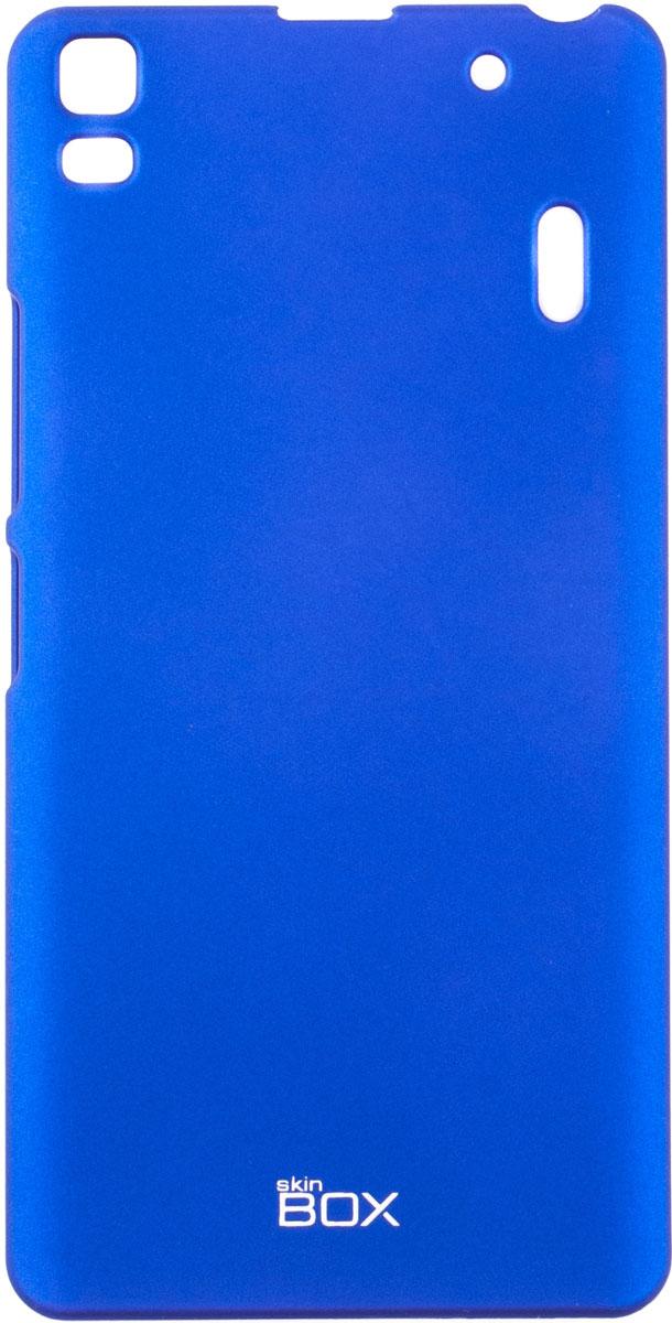 Skinbox 4People чехол для Lenovo A7000, BlueT-S-LA7000-002Чехол - накладка Skinbox 4People для Lenovo A7000 бережно и надежно защитит ваш смартфон от пыли, грязи, царапин и других повреждений. Чехол оставляет свободным доступ ко всем разъемам и кнопкам устройства. В комплект также входит защитная пленка на экран.