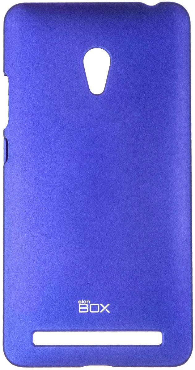 Skinbox 4People чехол для Asus ZenFone 6, Blue skinbox 4people чехол для asus zenfone 2 ze500cl blue