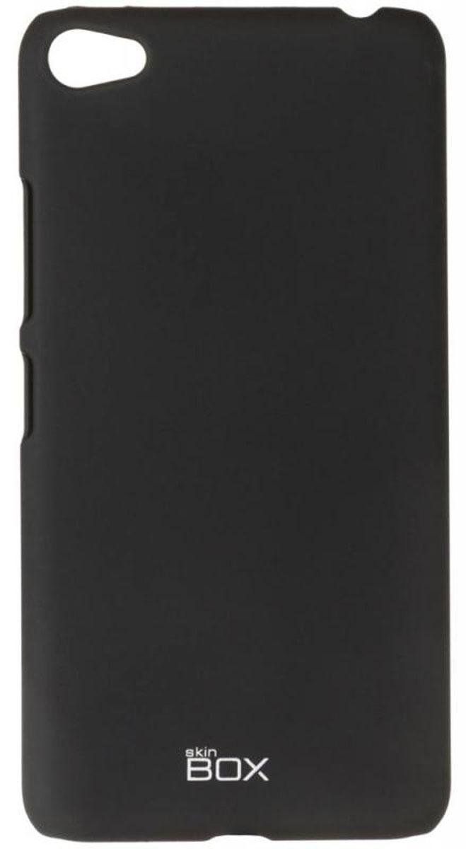 Skinbox 4People чехол для Lenovo S60, BlackT-S-LS60-002Чехол - накладка Skinbox 4People для Lenovo S60 бережно и надежно защитит ваш смартфон от пыли, грязи, царапин и других повреждений. Чехол оставляет свободным доступ ко всем разъемам и кнопкам устройства. В комплект также входит защитная пленка на экран.