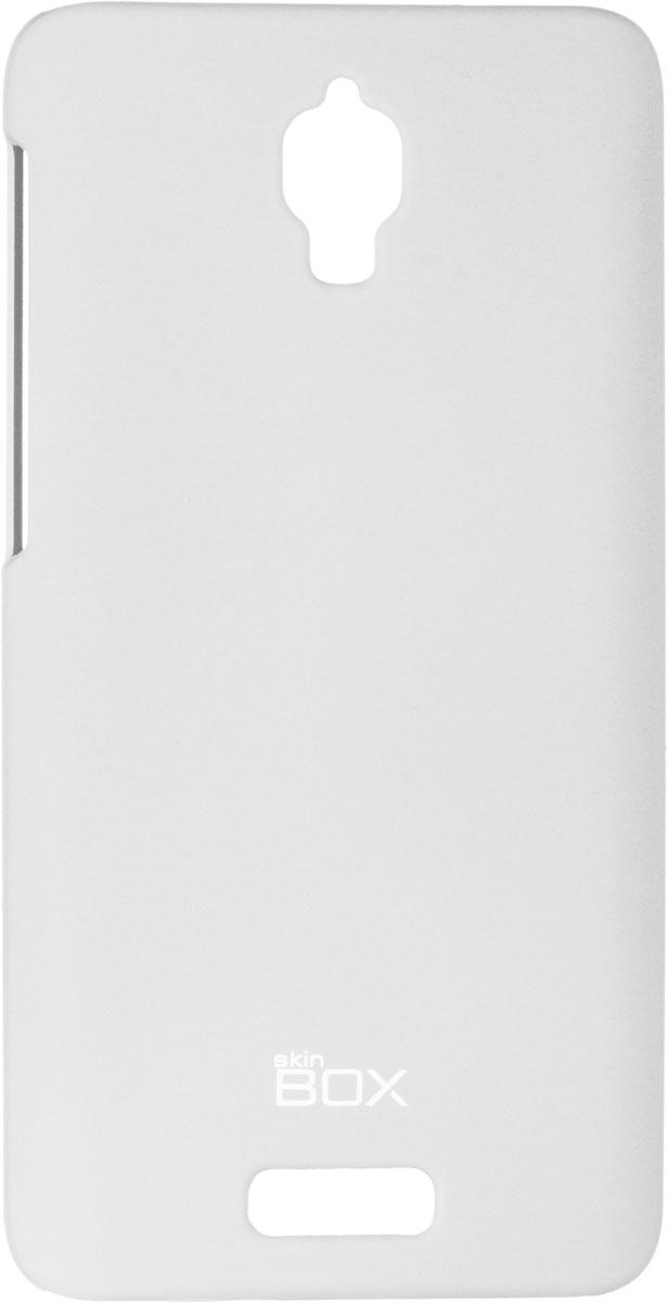 Skinbox 4People чехол для Lenovo S660, WhiteT-S-LS660-002Чехол - накладка Skinbox 4People для Lenovo S660 бережно и надежно защитит ваш смартфон от пыли, грязи, царапин и других повреждений. Чехол оставляет свободным доступ ко всем разъемам и кнопкам устройства. В комплект также входит защитная пленка на экран.