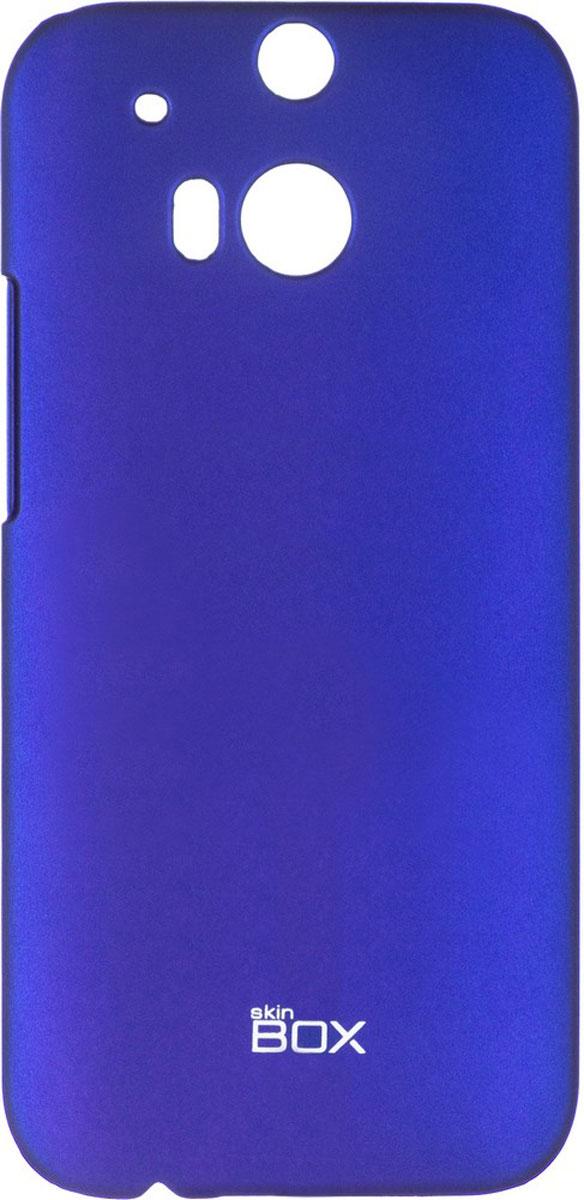 Skinbox 4People чехол для HTC One M8, BlueT-S-HOM8-002Чехол - накладка Skinbox 4People для HTC One M8 бережно и надежно защитит ваш смартфон от пыли, грязи, царапин и других повреждений. Чехол оставляет свободным доступ ко всем разъемам и кнопкам устройства. В комплект также входит защитная пленка на экран.