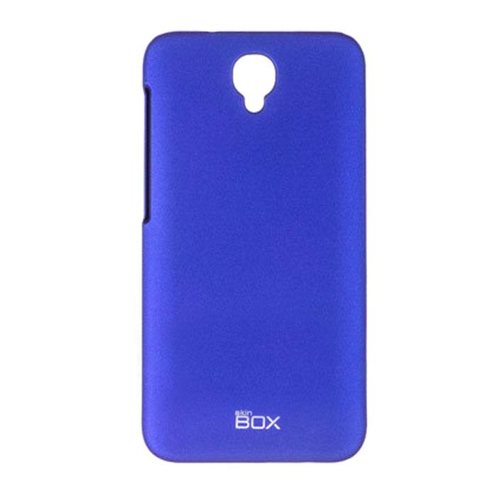Skinbox 4People чехол для Alcatel Idol 2, BlueT-S-AI2-002Чехол - накладка Skinbox 4People для Alcatel Idol 2 бережно и надежно защитит ваш смартфон от пыли, грязи, царапин и других повреждений. Чехол оставляет свободным доступ ко всем разъемам и кнопкам устройства. В комплект также входит защитная пленка на экран.