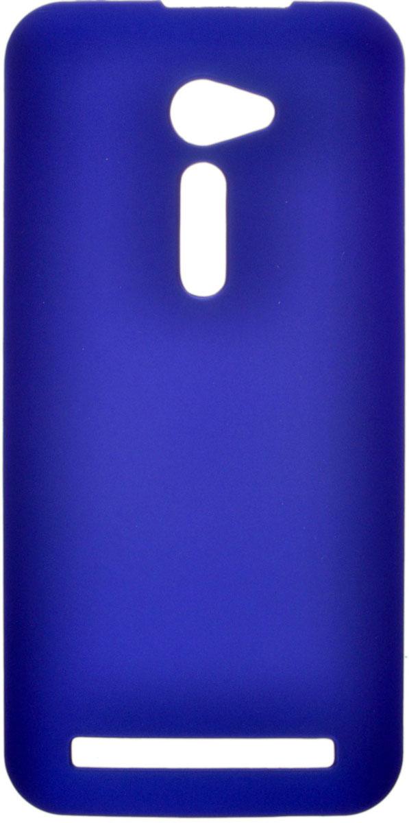 Skinbox 4People чехол для Asus ZenFone 2 (ZE500CL), Blue чехол asus бампер для asus zenfone 2 blue