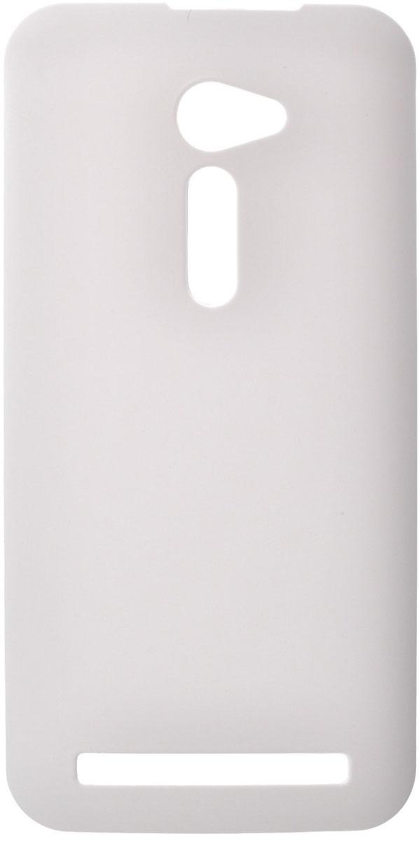 Skinbox 4People чехол для Asus ZenFone 2 (ZE500CL), WhiteT-S-AZ25-002Чехол-накладка Skinbox 4People для Asus ZenFone 2 (ZE500CL) бережно и надежно защитит ваш смартфон от пыли, грязи, царапин и других повреждений. Чехол оставляет свободным доступ ко всем разъемам и кнопкам устройства. В комплект также входит защитная пленка на экран.
