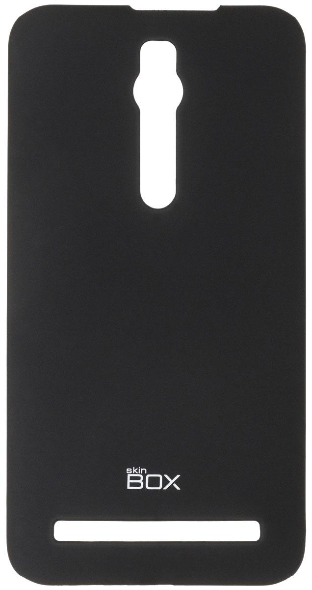 Skinbox 4People чехол для Asus ZenFone 2 (ZE551ML/ZE550ML), BlackT-S-AZ2-002Чехол-накладка Skinbox 4People для Asus ZenFone 2 (ZE551ML/ZE550ML) бережно и надежно защитит ваш смартфон от пыли, грязи, царапин и других повреждений. Чехол оставляет свободным доступ ко всем разъемам и кнопкам устройства. В комплект также входит защитная пленка на экран.