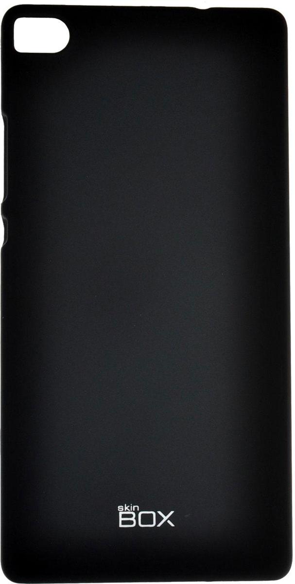 Skinbox 4People чехол для Huawei P8, BlackT-S-HP8-002Чехол - накладка Skinbox 4People для Huawei P8 бережно и надежно защитит ваш смартфон от пыли, грязи, царапин и других повреждений. Чехол оставляет свободным доступ ко всем разъемам и кнопкам устройства. В комплект также входит защитная пленка на экран.