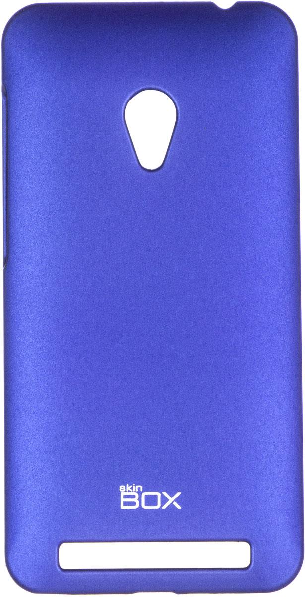 Skinbox 4People чехол для Asus ZenFone 4 (A450CG), BlueT-S-AZA450CG-002Чехол - накладка Skinbox 4People для Asus ZenFone 4 (A450CG) бережно и надежно защитит ваш смартфон от пыли, грязи, царапин и других повреждений. Чехол оставляет свободным доступ ко всем разъемам и кнопкам устройства. В комплект также входит защитная пленка на экран.