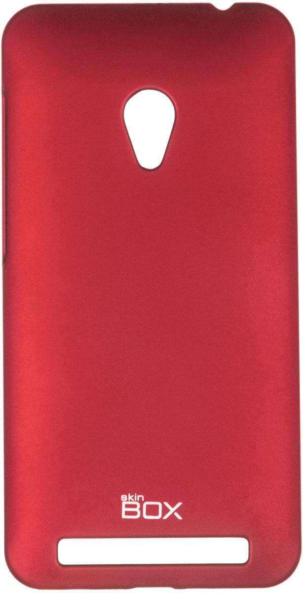 Skinbox 4People чехол для Asus ZenFone 4 (A450CG), RedT-S-AZA450CG-002Чехол - накладка Skinbox 4People для Asus ZenFone 4 (A450CG) бережно и надежно защитит ваш смартфон от пыли, грязи, царапин и других повреждений. Чехол оставляет свободным доступ ко всем разъемам и кнопкам устройства. В комплект также входит защитная пленка на экран.