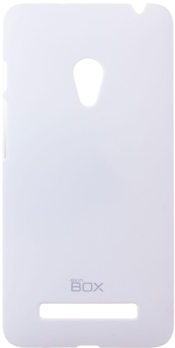 Skinbox 4People чехол для Asus ZenFone 5 A501CG, WhiteT-S-AZ5-002Чехол - накладка Skinbox 4People для Asus ZenFone 5 бережно и надежно защитит ваш смартфон от пыли, грязи, царапин и других повреждений. Чехол оставляет свободным доступ ко всем разъемам и кнопкам устройства. В комплект также входит защитная пленка на экран.