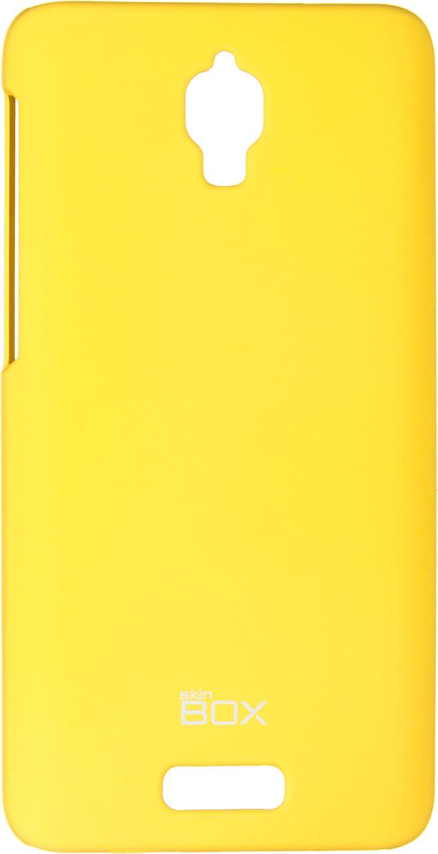 Skinbox 4People чехол для Lenovo S660, YellowT-S-LS660-002Чехол - накладка Skinbox 4People для Lenovo S660 бережно и надежно защитит ваш смартфон от пыли, грязи, царапин и других повреждений. Чехол оставляет свободным доступ ко всем разъемам и кнопкам устройства. В комплект также входит защитная пленка на экран.