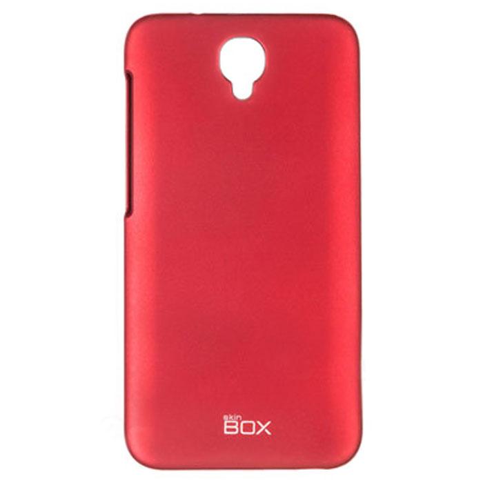 Skinbox 4People чехол для Alcatel Idol 2, RedT-S-AI2-002Чехол - накладка Skinbox 4People для Alcatel Idol 2 бережно и надежно защитит ваш смартфон от пыли, грязи, царапин и других повреждений. Чехол оставляет свободным доступ ко всем разъемам и кнопкам устройства. В комплект также входит защитная пленка на экран.