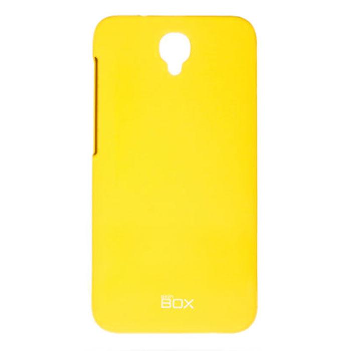 Skinbox 4People чехол для Alcatel Idol 2, YellowT-S-AI2-002Чехол - накладка Skinbox 4People для Alcatel Idol 2 бережно и надежно защитит ваш смартфон от пыли, грязи, царапин и других повреждений. Чехол оставляет свободным доступ ко всем разъемам и кнопкам устройства. В комплект также входит защитная пленка на экран.