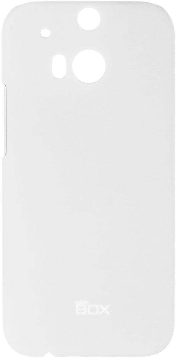Skinbox 4People чехол для HTC One M8, WhiteT-S-HOM8-002Чехол - накладка Skinbox 4People для HTC One M8 бережно и надежно защитит ваш смартфон от пыли, грязи, царапин и других повреждений. Чехол оставляет свободным доступ ко всем разъемам и кнопкам устройства. В комплект также входит защитная пленка на экран.