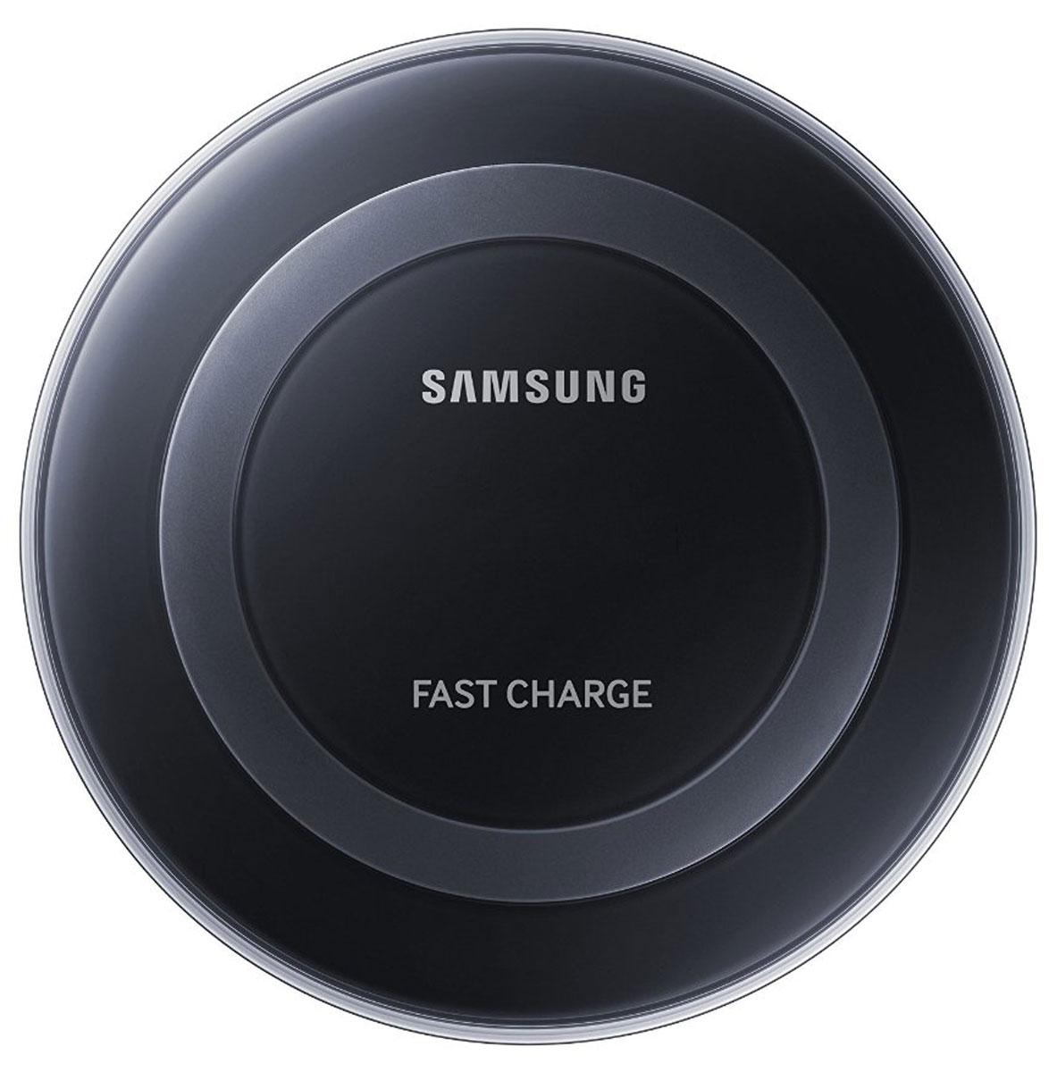 Samsung EP-PN920, Black беспроводное зарядное устройствоEP-PN920BBRGRUС беспроводным зарядным устройством Samsung EP-PN920 заряжать смартфон стало проще и быстрее, чем когда - либо. Не нужно подключать кабель к смартфону, достаточно положить ваше мобильное устройство на зарядную панель и быстрая зарядка начнется автоматически. В отличие от большинства обычных зарядных устройств, беспроводное зарядное устройство Samsung EP-PN920 имеет уникальный и красивый дизайн. Прозрачные элементы и глянцевое покрытие корпуса добавляют изысканности, а элегантная округлая форма устройства добавит стиля любому интерьеру. Специальный LED - индикатор позволит вам контролировать статус зарядки мобильного устройства, меняя цвет с небесно-голубого на ярко-зеленый, когда аккумулятор полностью заряжен.