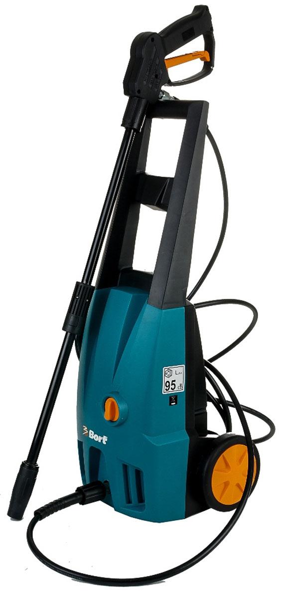 Мойка высокого давления Bort BHR-2000-SC98296075Мойка высокого давления Bort BHR-2000-SC предназначена для очистки садовой мебели и дорожек. Она также подходит для мойки автомобиля, очистки фасада здания от осевшей пыли и для других похожих работ. Одна из особенностей этой мойки - функция самовсасывания воды. Функция позволяет без труда начать пользоваться мойкой при любом источнике воды, вам не нужно подключать ее к центральному водоснабжению. Благодаря небольшому весу и длинному шлангу, пользоваться изделием очень удобно, а высокое рабочее давление в 85 бар помогает справиться с уборкой быстро. Модель оснащена функцией автоматического отключения - полная остановка мойки после того, как вы отпустите курок пистолета и запуск по нажатию курка после остановки. Данная мойка отличается долговечностью, благодаря качественным материалам сборки и защиты двигателя от перегрузок. Максимальное давление: 120 бар. Рабочее давление: 85 бар. Максимальная производительность: 300 л/час. Длина шланга: 5 м.