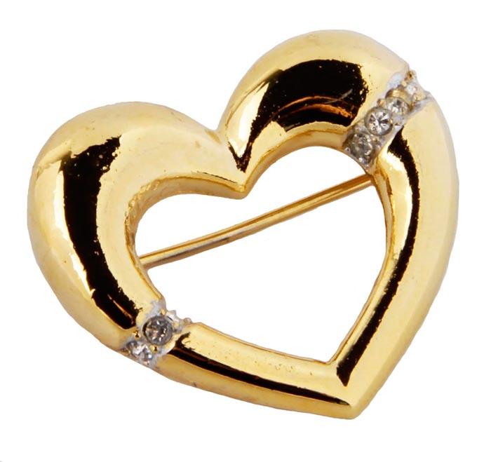 Винтажная брошь Сердце от Sphinx. Бижутерный сплав золотого тона, кристаллы . Sphinx, Великобритания, конец ХХ векаОС23307Винтажная брошь Сердце от Sphinx. Бижутерный сплав золотого тона, кристаллы . Sphinx, Великобритания, конец ХХ века. Размер броши 3 х 3 см . Сохранность хорошая. Клеймо Sphinx в овальном картуше на изнаночной стороне броши. Необыкновенной красоты брошь! Выполнена брошь из высококачественного ювелирного сплава под золото. Украшение в виде небольшого сердца, декорировано прозрачными кристаллами Поистине, как классика никогда не выходит из моды, так и эта брошь будет служить вам украшением многие годы.