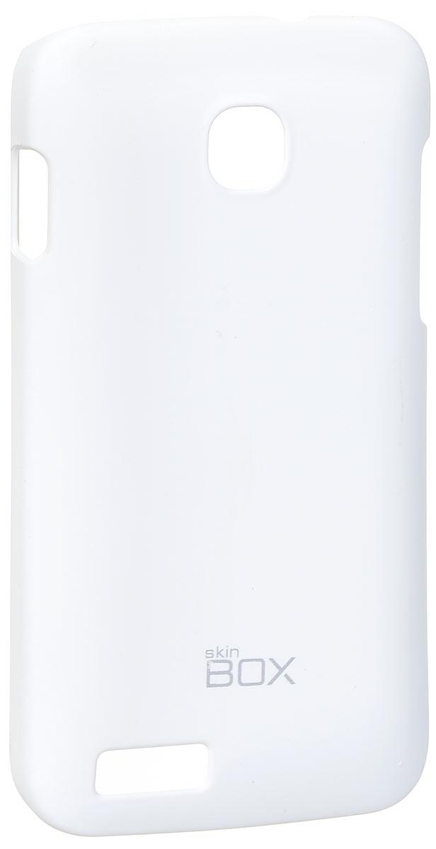 Skinbox 4People чехол для Fly IQ434 Era Nano 5, WhiteT-S-FIQ434-002Чехол - накладка Skinbox 4People для Fly IQ434 Era Nano 5 бережно и надежно защитит ваш смартфон от пыли, грязи, царапин и других повреждений. Чехол оставляет свободным доступ ко всем разъемам и кнопкам устройства. В комплект также входит защитная пленка на экран.
