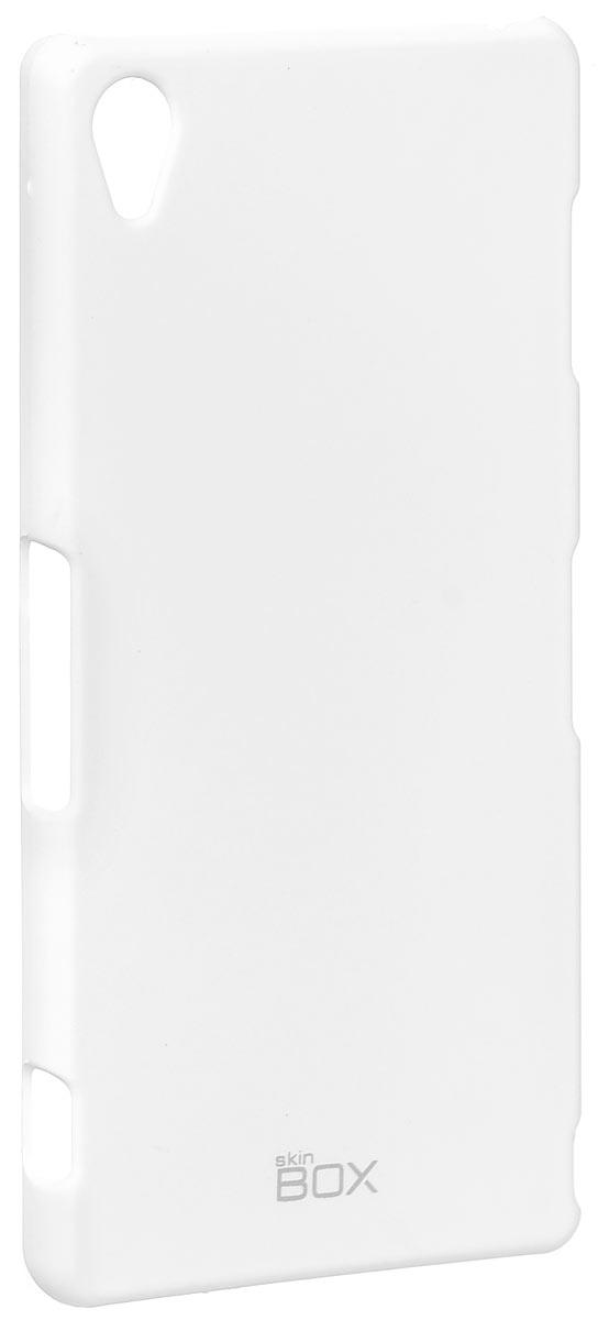 Skinbox 4People чехол для Sony Xperia Z3, WhiteT-S-SXZ3-002Чехол - накладка Skinbox 4People для Sony Xperia Z3 бережно и надежно защитит ваш смартфон от пыли, грязи, царапин и других повреждений. Чехол оставляет свободным доступ ко всем разъемам и кнопкам устройства. В комплект также входит защитная пленка на экран.