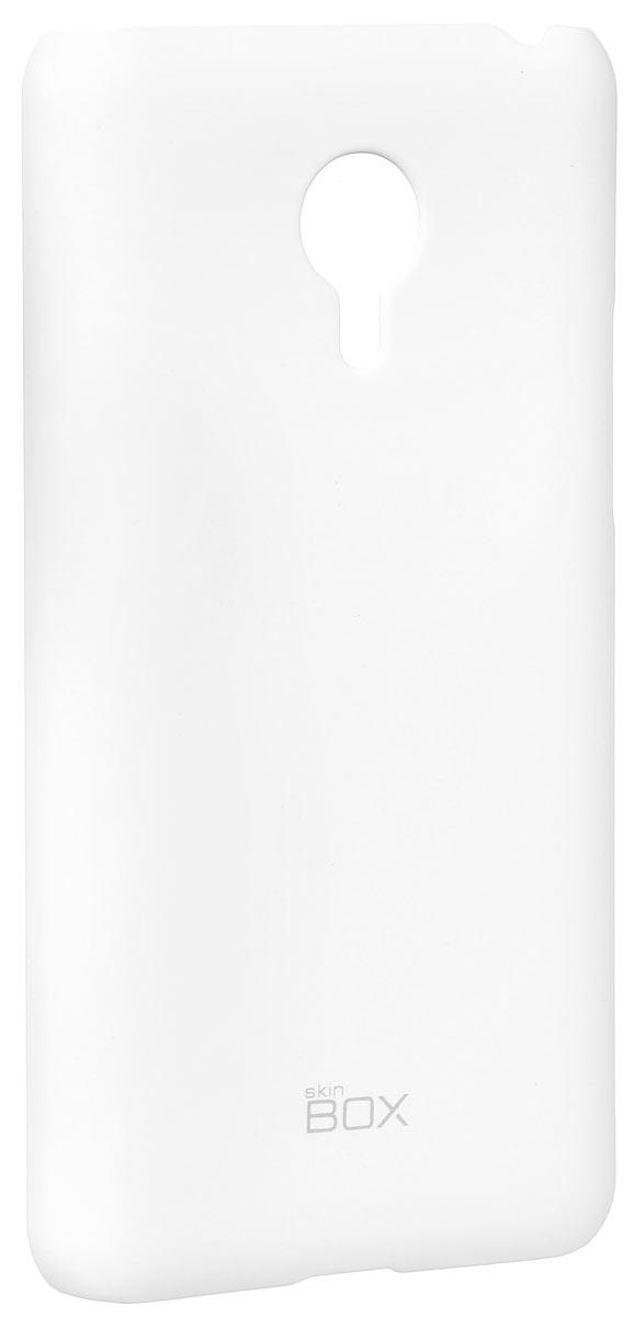 Skinbox 4People чехол для Meizu MX4 Pro, WhiteT-S-MX4P-002Накладка Skinbox 4People для Meizu MX4 Pro выполнена из высококачественного поликарбоната. Она бережно и надежно защитит ваш смартфон от пыли, грязи, царапин и других повреждений. Чехол оставляет свободным доступ ко всем разъемам и кнопкам устройства.
