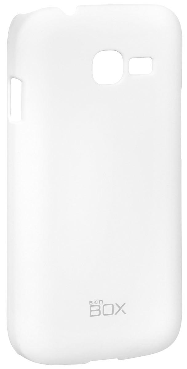 Skinbox 4People чехол для Samsung S726x Galaxy Star Plus, WhiteT-S-SS726x-002Чехол-накладка Skinbox 4People для Samsung S726x Galaxy Star Plus бережно и надежно защитит ваш смартфон от пыли, грязи, царапин и других повреждений. Чехол оставляет свободным доступ ко всем разъемам и кнопкам устройства. В комплект также входит защитная пленка на экран.