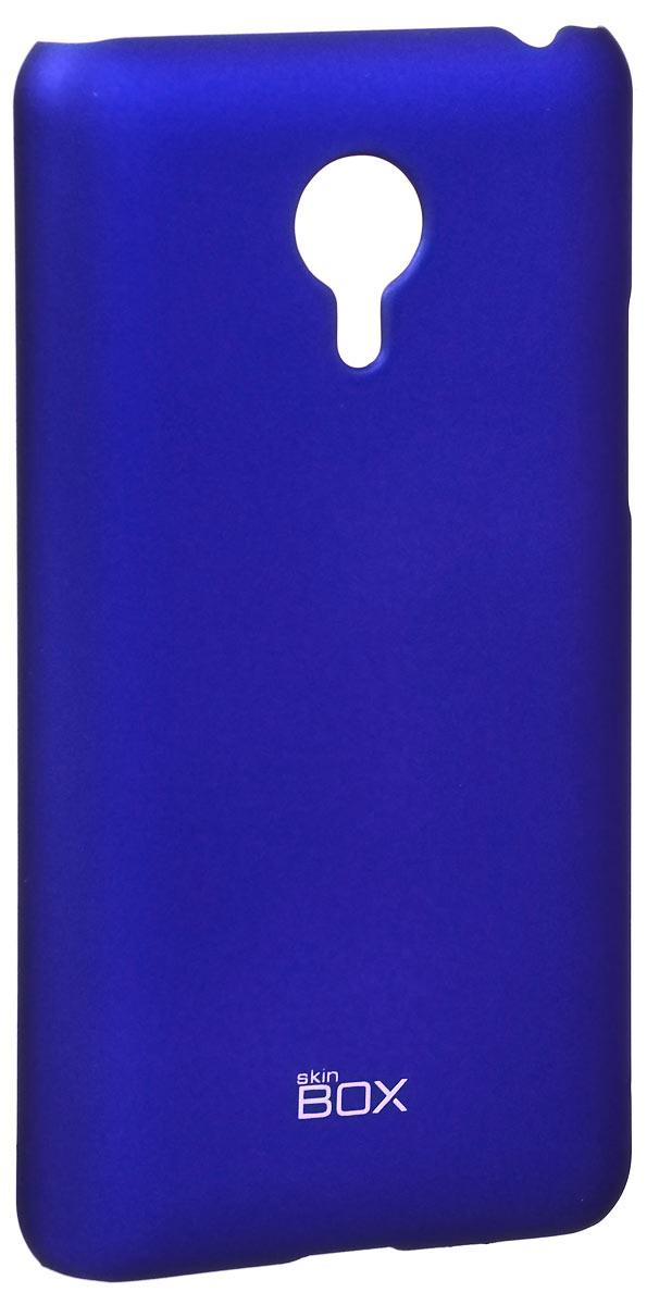 Skinbox 4People чехол для Meizu MX4 Pro, BlueT-S-MX4P-002Накладка Skinbox 4People для Meizu MX4 Pro выполнена из высококачественного поликарбоната. Она бережно и надежно защитит ваш смартфон от пыли, грязи, царапин и других повреждений. Чехол оставляет свободным доступ ко всем разъемам и кнопкам устройства.