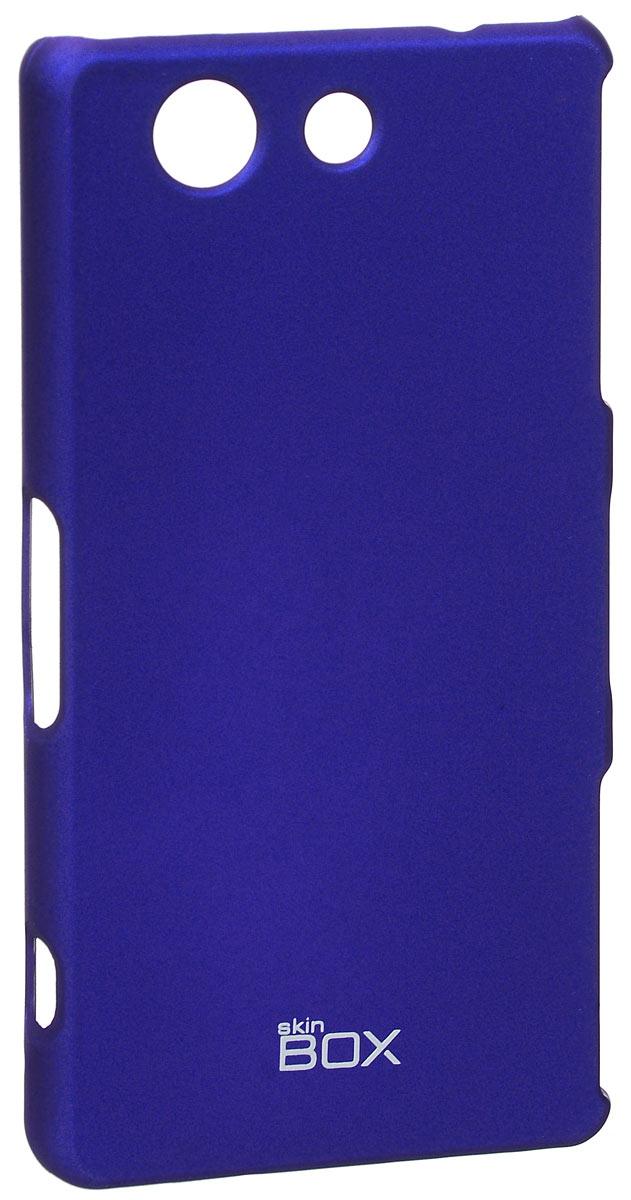 Skinbox 4People чехол для Sony Xperia Z3 Compact, BlueT-S-SXZ3C-002Чехол - накладка Skinbox 4People для Sony Xperia Z3 бережно и надежно защитит ваш смартфон от пыли, грязи, царапин и других повреждений. Чехол оставляет свободным доступ ко всем разъемам и кнопкам устройства. В комплект также входит защитная пленка на экран.