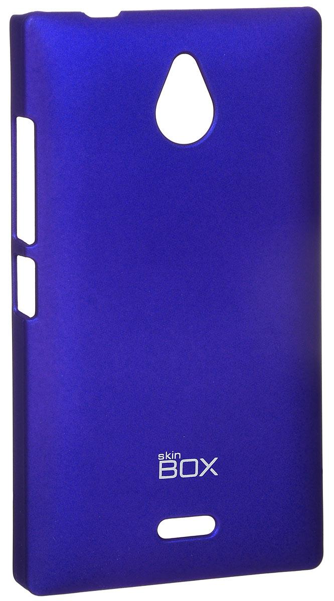 Skinbox 4People чехол для Nokia X2, BlueT-S-NX2-002Накладка Skinbox 4People для Nokia X2 выполнена из высококачественного поликарбоната. Она бережно и надежно защитит ваш смартфон от пыли, грязи, царапин и других повреждений. Чехол оставляет свободным доступ ко всем разъемам и кнопкам устройства.