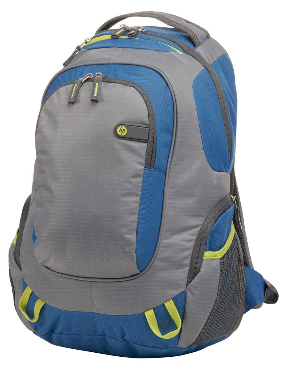 HP Outdoor Sport Backpack, Grey Blue рюкзак для ноутбука 15.6